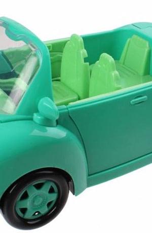 Jonotoys set auto Picnic mini 23 delig groen
