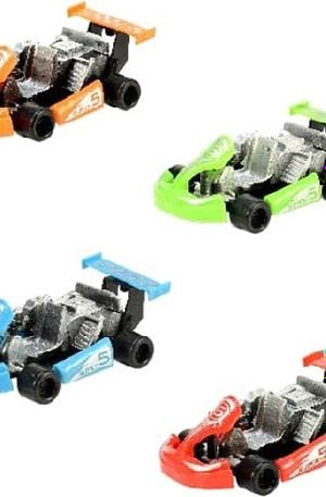 Toi Toys Super Karts 9 cm 4 delig