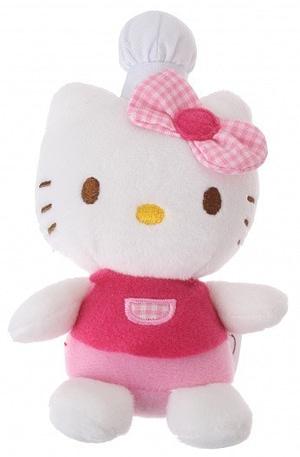 Jemini Hello Kitty Knuffel Fait La Cuisine meisjes roze 11 cm