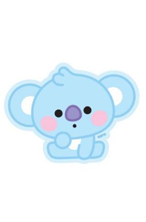 Bulck | De nr. 1 cadeau website | BT21 BT21 Baby Sticker - KOYA (Zittend)