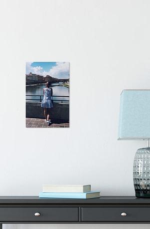 Foto op aluminium afdrukken - Wit (ChromaLuxe) - 20 x 30 cm