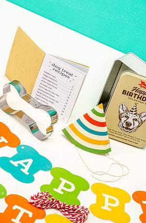 Happy Birthday Kit Voor Honden - Kikkerland