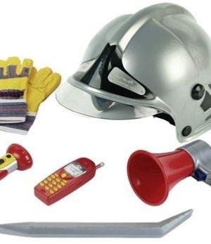 Klein brandweerman set 7 delig
