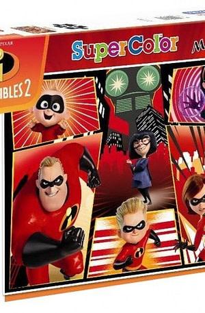 Clementoni maxi supercolor legpuzzel Incredibles 2 104 stukjes