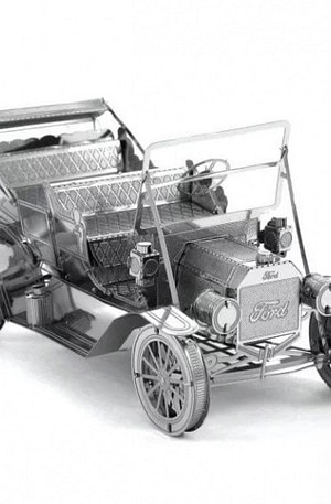 Metal Earth Ford 1908 3D modelbouwset 9 cm