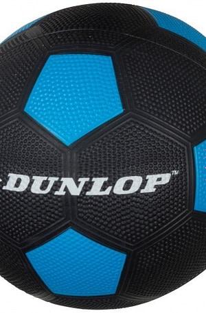 Dunlop Voetbal maat 5 zwart/blauw