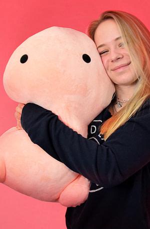 BULCK - Nr. 1 cadeau website | Mini Penis Bodypillow - Kleine Piemel kussen