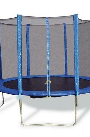 Small Foot Trampoline met vangnet 366 cm blauw