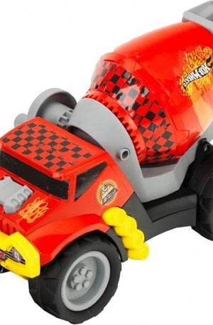 Hot Wheels betonmixer 1:24 rood