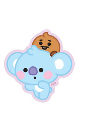 Bulck | De nr. 1 cadeau website | BT21 BT21 Baby Sticker - KOYA & SHOOKY