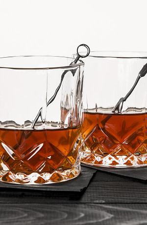 Whiskey Glazen (Set Van 2) - Kikkerland