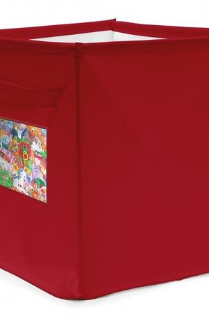 Achoka persoonlijke opbergbox 22 liter rood