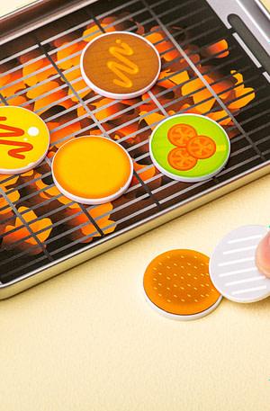 Flippin' Burgers Spel - Fizz