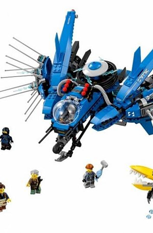 LEGO Ninjago: bliksemstraaljager (70614)