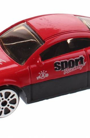 Johntoy schaalmodel Super Cars die cast 7 cm rood