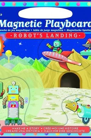 Eeboo magnetisch speelbord landing van de robot