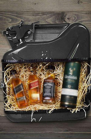 BULCK - Nr. 1 cadeau website | Jerrycan Whiskey Bar - Zwart