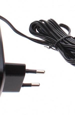 Injusa batterijlader CE 12V 1A zwart
