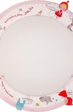 Dalber plafonnière 2 in 1 Little Red 45 cm roze