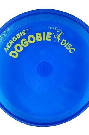Aerobie Dogobie hondenfrisbee 20 cm blauw