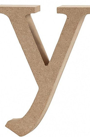 Creative letter y MDF 12 cm
