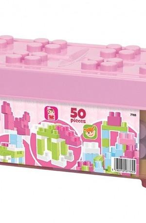 écoiffier Abrick Maxi: bouwblokken met opbergdoos ro 50 delig