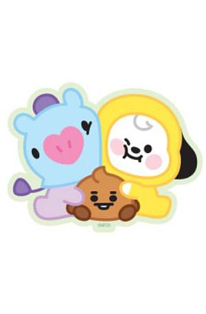 Bulck | De nr. 1 cadeau website | BT21 BT21 Baby Sticker - CHIMMY