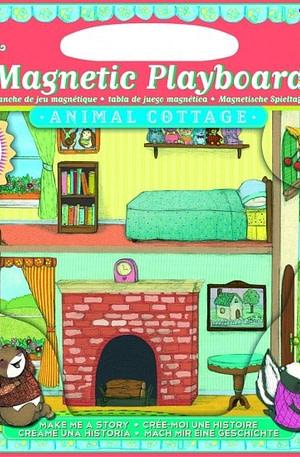 Eeboo magnetisch speelbord dieren huis