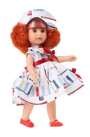 Berjuan aankleedpop Irene 22 cm Rood