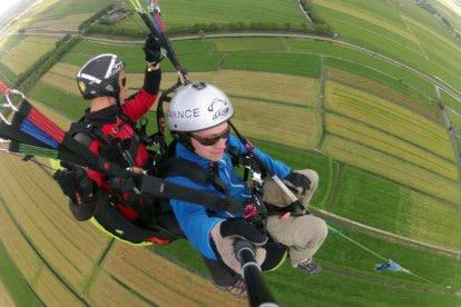 Tandemvlucht Paragliding