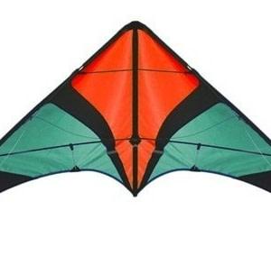 Spiderkites tweelijnsstuntkite Wingman 150 cm oranje/groen