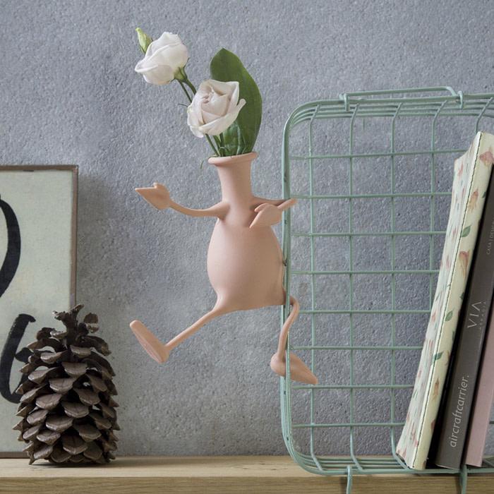 Florino Flexibele Vaas - Roze - Peleg Design
