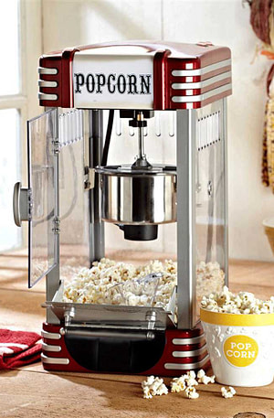 BULCK - Nr. 1 cadeau website | Retro Popcornmachine Deluxe