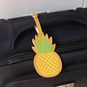 Kikkerland Ananas kofferlabel