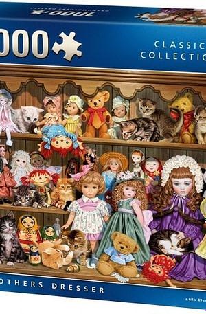 King legpuzzel Grandmothers Dresser 1000 stukjes