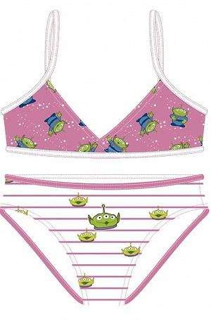 Disney bikini Toy Story Aliens meisjes roze maat 104