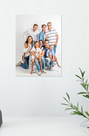 Foto op aluminium afdrukken - Wit (ChromaLuxe) - 15 x 20 cm