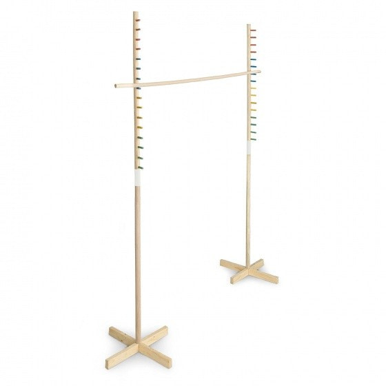 Toyrific houten limbospel 95 tot 151 cm blank