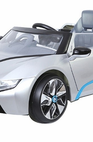 Rollplay BMW i8 Spyder accuvoertuig 6 Volt zilver
