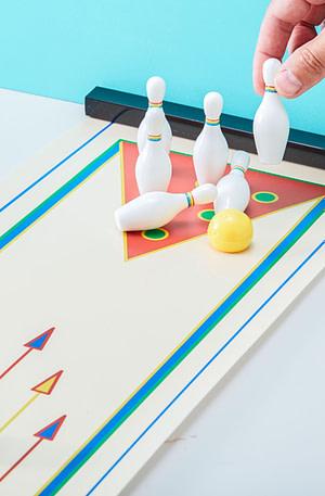 Bowling Game Voor Op Tafel - Kikkerland