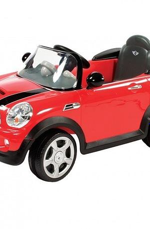 Rollplay Mini Cooper S accuvoertuig 6 Volt rood