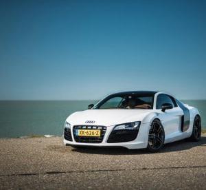Zelf rijden in een Audi R8