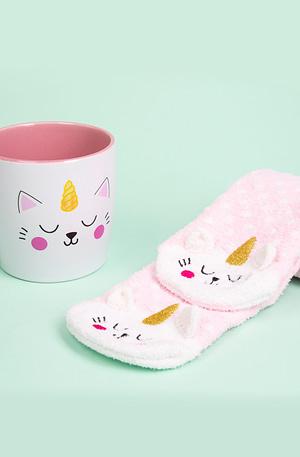 Kittycorn Mok En Sokken