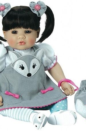 Adora Toddler Time silver fox 51 cm grijs