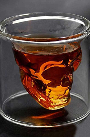 BULCK - Nr. 1 cadeau website | Skull Glass - Whiskey Glas