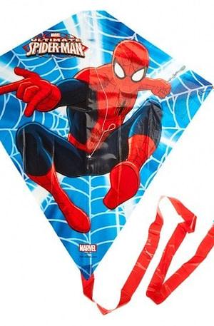 Kamparo vlieger Spider Man 59 x 56 cm blauw