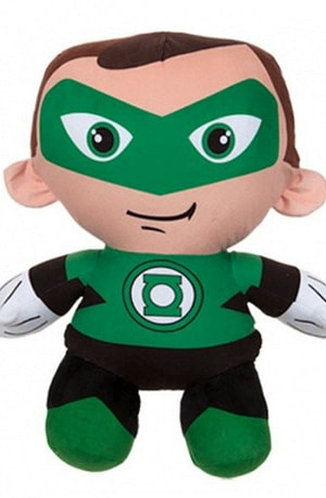 DC Comics pluchen knuffel The Lantern 44 cm groen