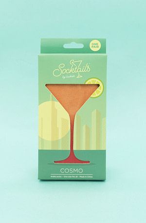 Socktails Cocktailsokken - Cosmo - Luckies
