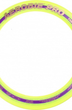 Aerobie frisbee Pro Ring 33 cm geel