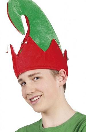 Boland hoed Elf Yule jongens one size groen